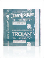 Trojan Thintensity condoms at Fleshlight.com