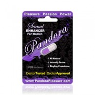 Pandora Female Sexual Enhancer 1-Count Pack