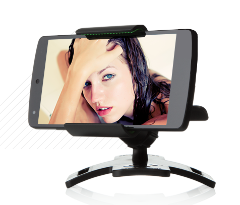 Can you hook up a webcam to a tablet